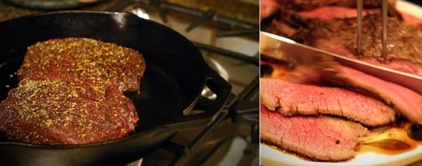 How to cook Elk Backstrap in Cast Iron Pan