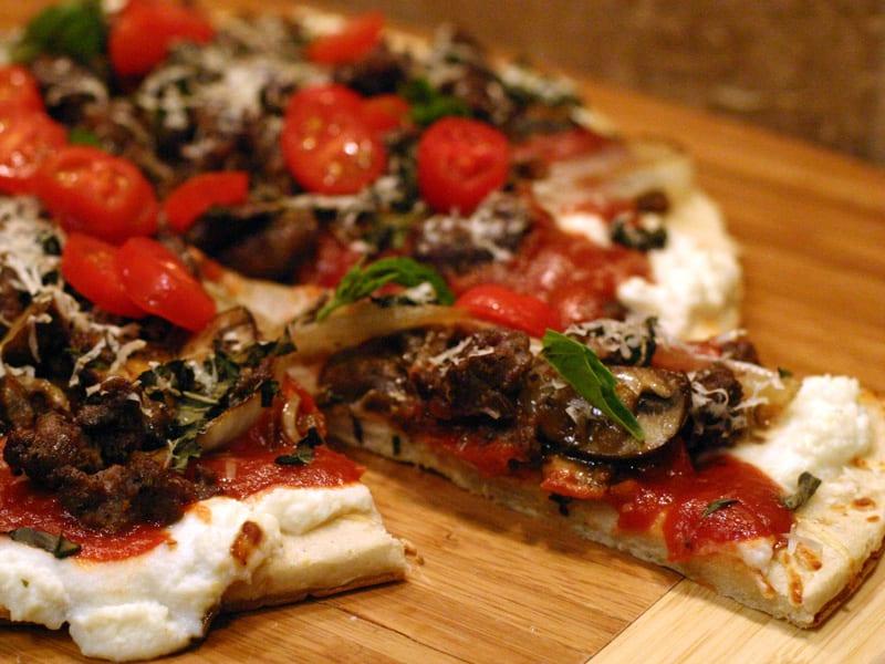 Elk Sausage Pizza Recipe
