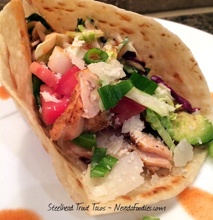Steelhead Trout Tacos