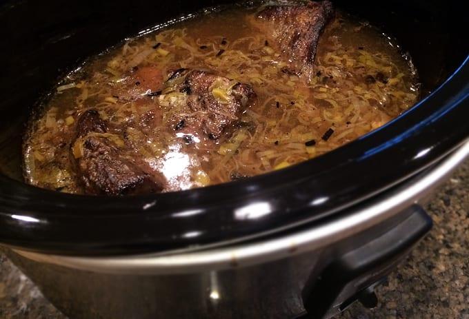 Slow Cooked Elk Roasts