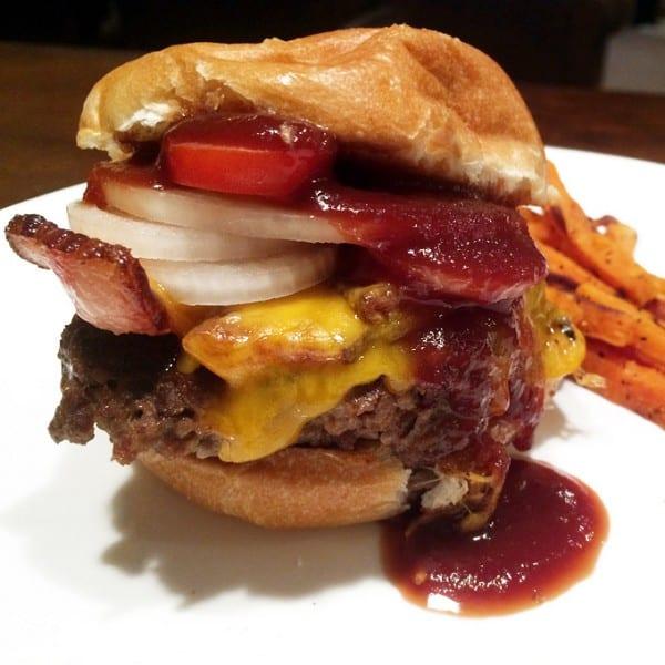 Venison Garlic Bacon Hamburger