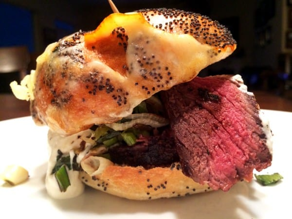 The Elk Backstrap Sandwich