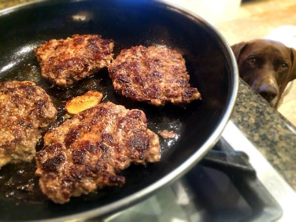 Goose Ginger Sausage Dinner Patties
