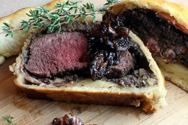 Thanksgiving Elk Wellington