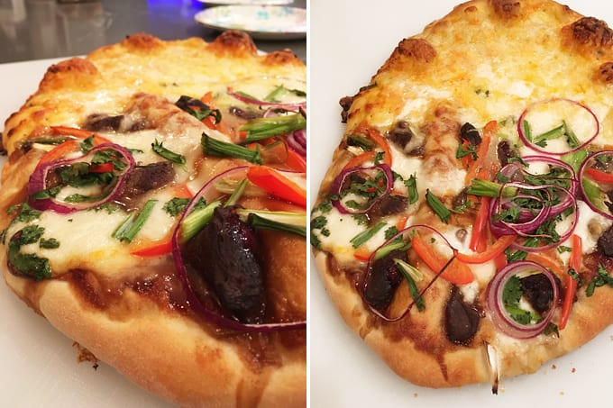 Hoisin Duck and Cheese Pizza | Wild Game Recipes | NevadaFoodies | Elk ...