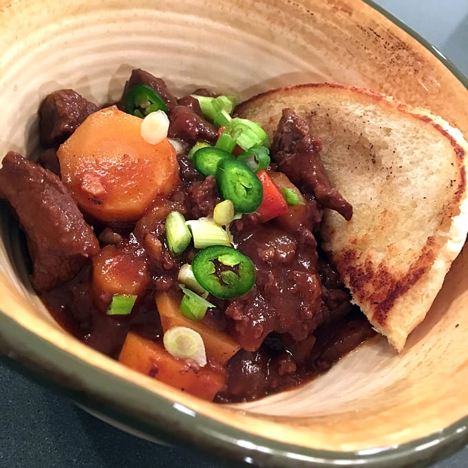 Bison Goulash