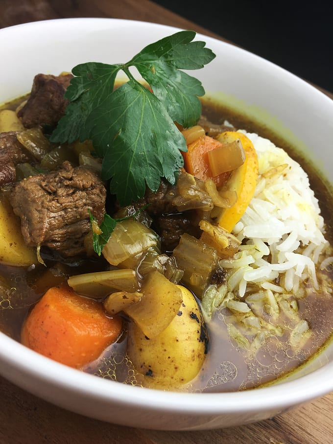 Curry Elk Stew