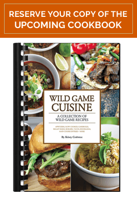 Reserve a copy of The Wild Game Cuisine Cookbook