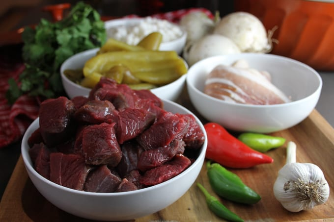 Mouthwatering Elk Green Chile Stew