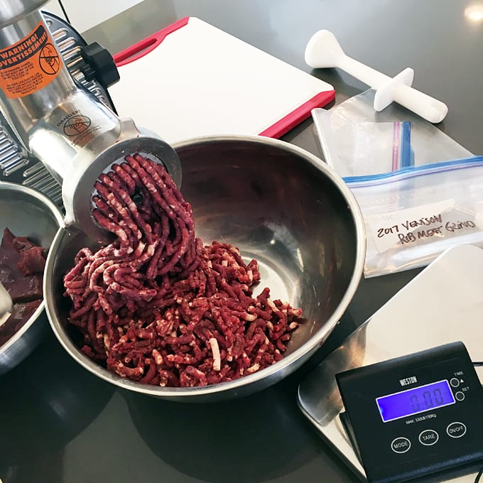 How to Grind Venison Meat