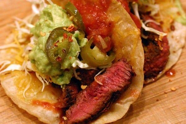 Elk Sirloin Tacos