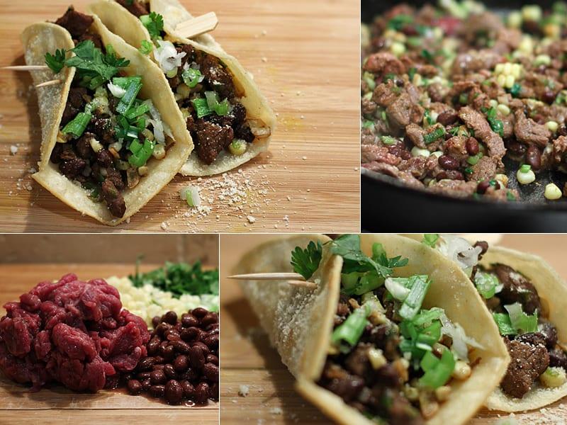 Antelope Sirloin Tacos