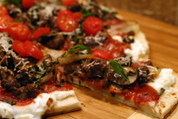 Elk Sausage Pizza Recipe