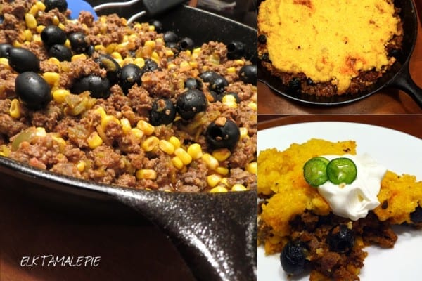Elk Tamale Pie
