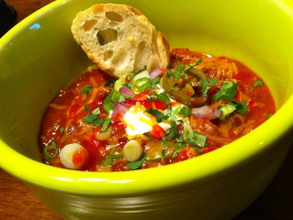 Easy Elk Chili Recipe