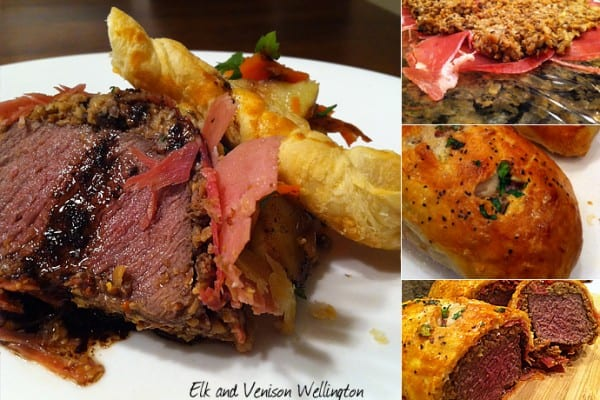 Elk and Venison Wellington