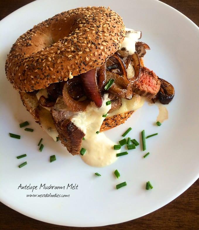Antelope Mushroom Melt