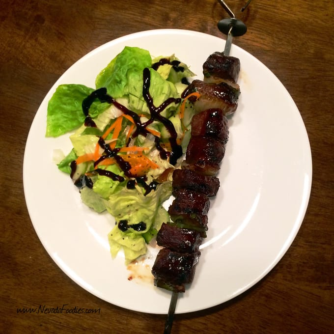 Antelope Hoisin Skewers