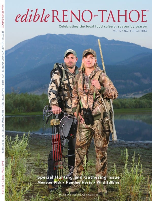 Edible Reno-Tahoe Cover Shot 2014 Fall Edition