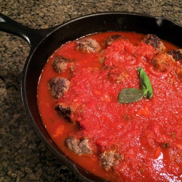 Grain and Dairy Free Venison Meatballs