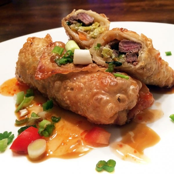Duck Breast Egg Rolls