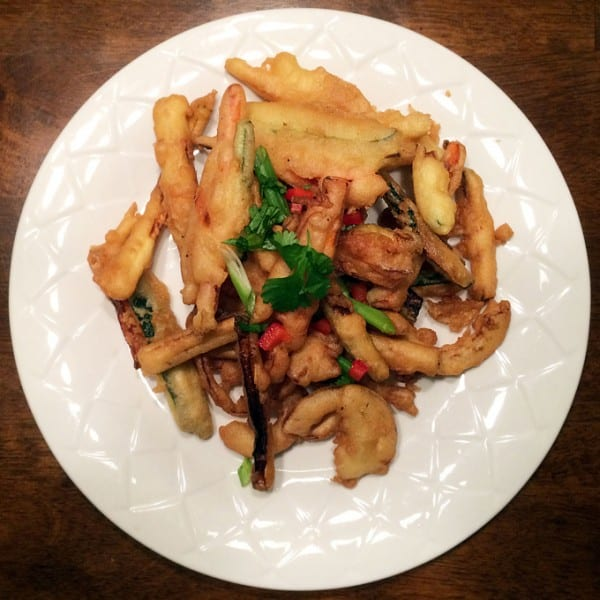 Fied Vegetable Tempura