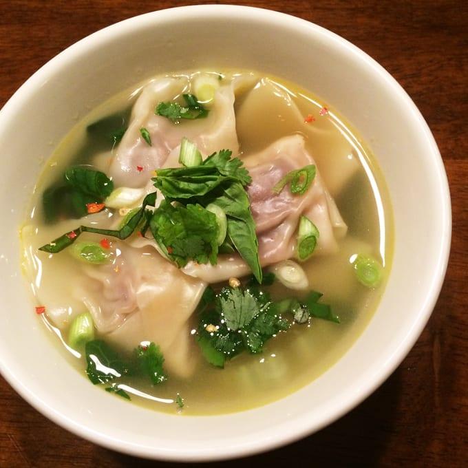 Goose Wonton Soup