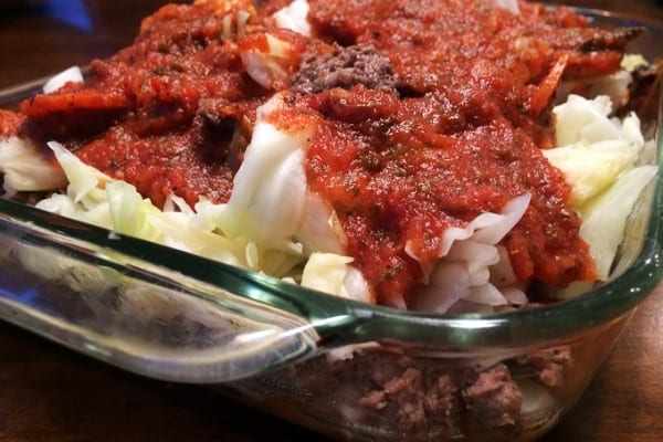 Antelope Cabbage Casserole