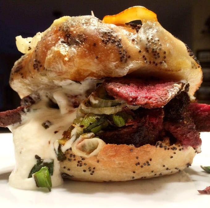 The Elk Backstrap Sandwich