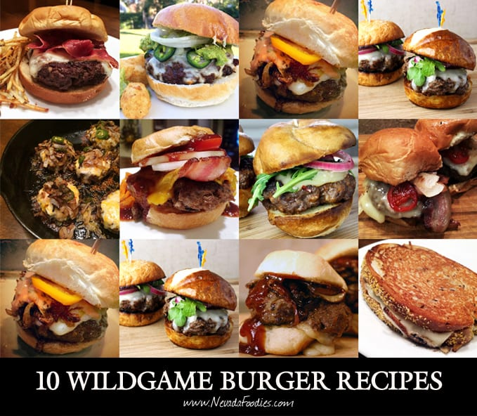 10 Wildgame Burger Recipes
