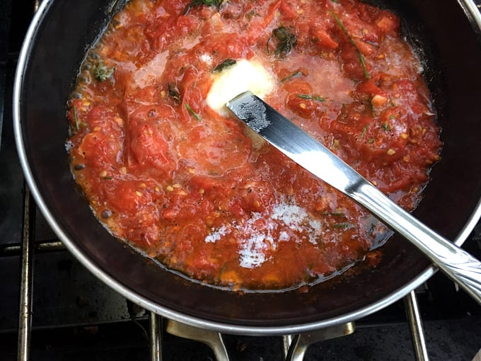 Wildgame Meatballs with Tomato Sauce