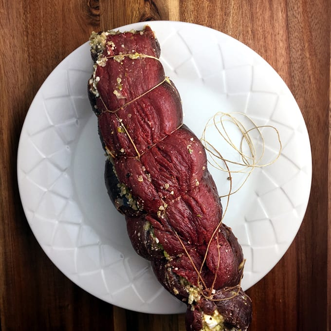 Stuffed Elk Tenderloin