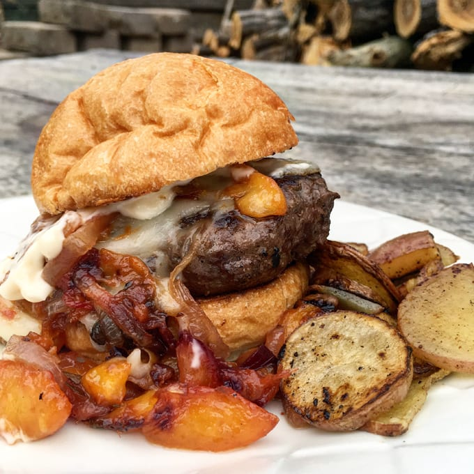 Wild Game Burgers with Fruit Chutney