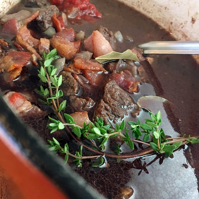 Black Bear Bourguignon