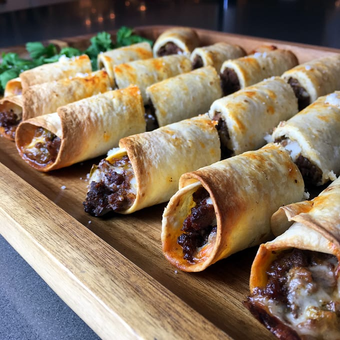 Antelope Taquito Appetizers