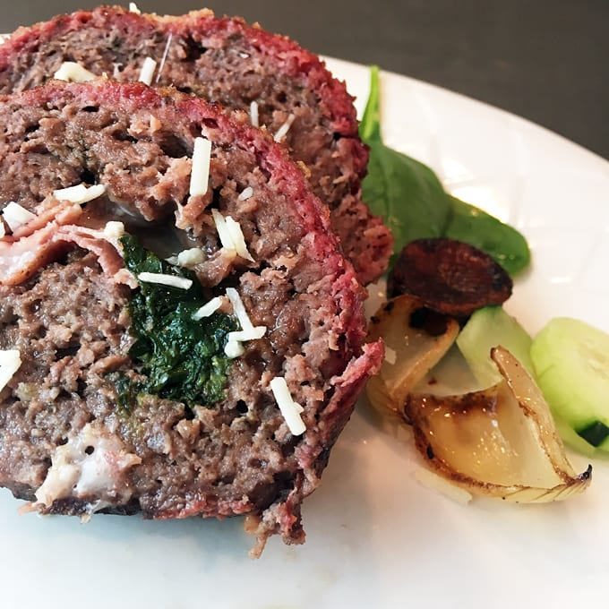 Smoked Ground Venison RollUp