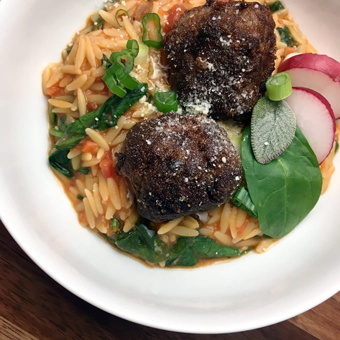 Fried Antelope Meatballs