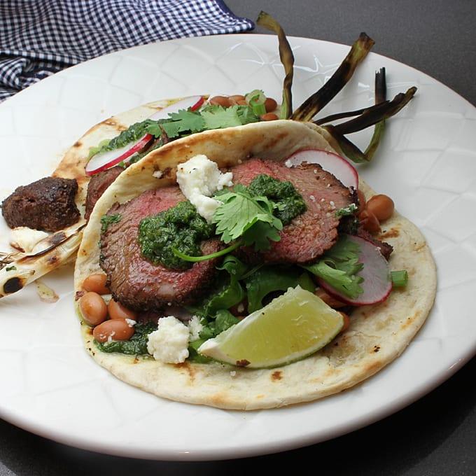 Grilled Venison Tacos