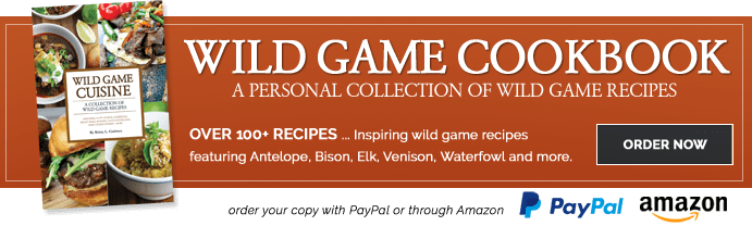 Order the Wild Game Cookbook