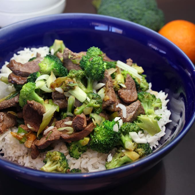Elk and Broccoli Stir-fry