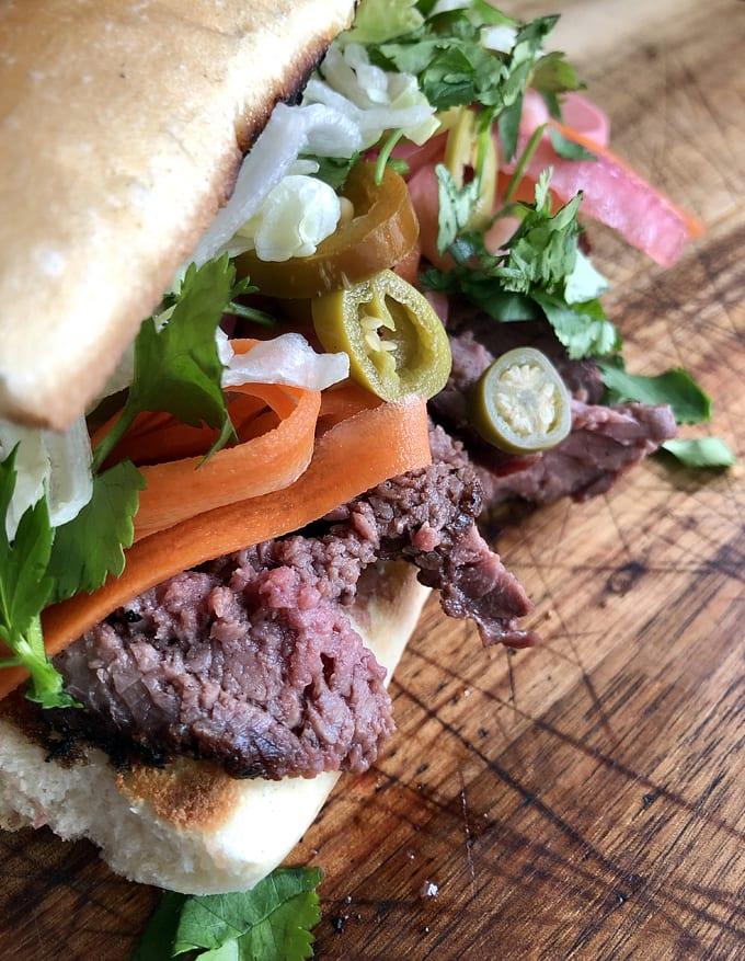 Elk Bánh mì Sandwich