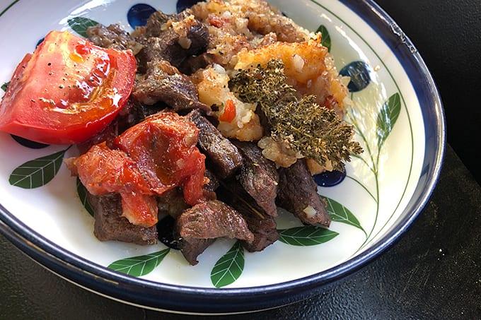 Braised Elk Stew Meat