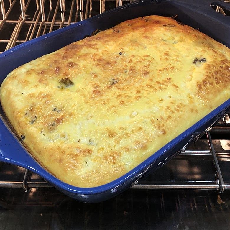 Venison Egg Bake